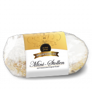 250g Mini-Christstollen in Kunststoff-Folie