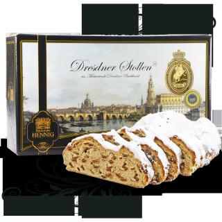 Dresdner Christstollen ® 500g in Stollenkarton