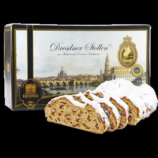 Dresdner Christstollen ® 1500g in Geschenkkarton