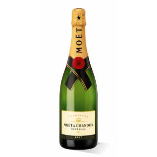 750 ml Moët & Chandon Champagnerflasche