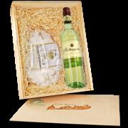 """Präsentbox """"Stollen & Riesling Weißwein"""""""