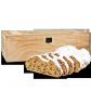 1000g Dresdner Stollen in hochwertiger Holztruhe