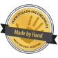 500g Edler Mandelstollen in Geschenkkarton   - Stollensiegel für echte Handarbeit