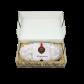 750g Edler Marzipanstollen in Geschenkkarton - Einlage in Strohoptik
