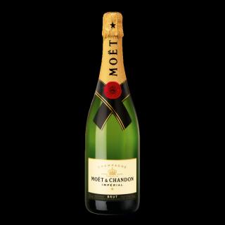 750 ml Moët & Chandon Champagnerflasche