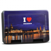 Keksdose I love Dresden Motiv Canaletto