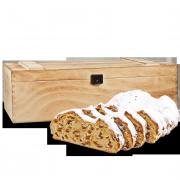 1000g Original Dresdner Christstollen® in Premium-Holztruhe