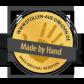 1000g Edler Mandelstollen in Geschenkkarton   - Stollensiegel für echte Handarbeit