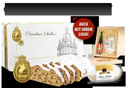 Dresdner Stollen für Firmen
