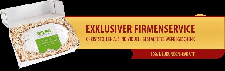 Dresdner Stollen Werbeartikel Werbegeschenk