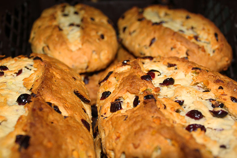 Stollen backen Rezept
